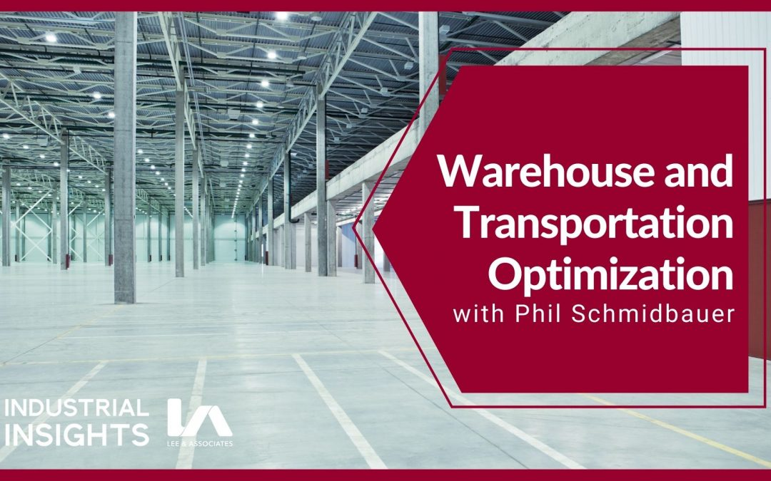 Warehouse and Transportation Optimization with Phil Schmidbauer