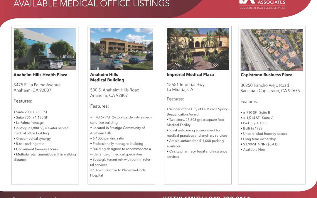 New Medical Office Suites Available