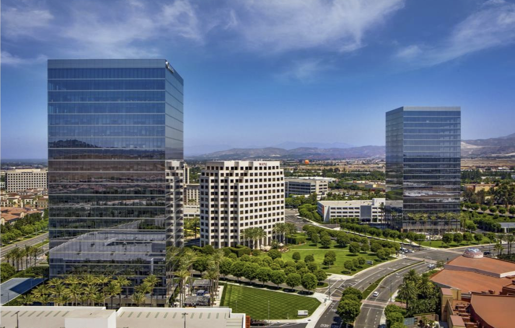 At 323 Feet, Irvine Spectrum Center Towers are the Tallest in Orange County